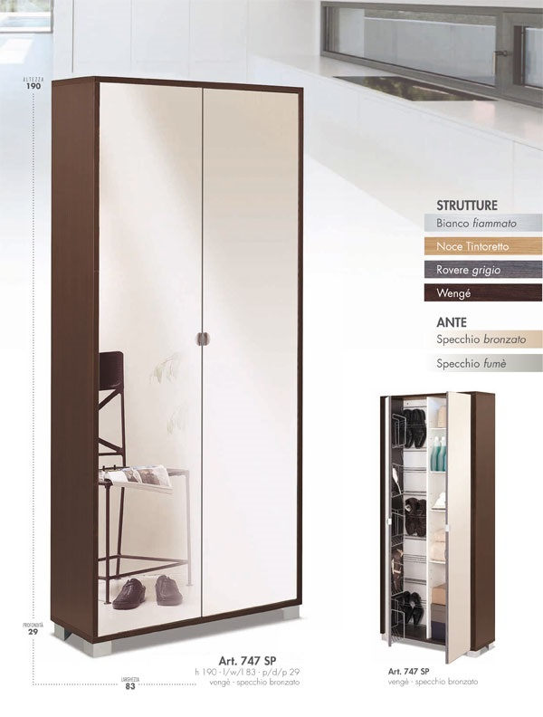 Armadio Scarpiera Design WQ64 ~ Pineglen