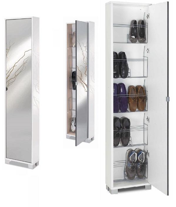 Scarpiera cod 746slspfu - Specchio adesivo per anta armadio ...